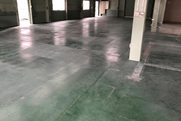 倉庫などの塗り床