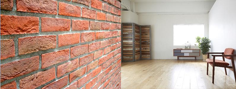 建築材料には湿式材料と乾式材料があります